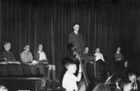 1941 Junior High Orchestra Performance