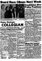 Western Washington Collegian - 1955 November 18