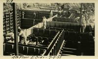 Lower Baker River dam construction 1925-07-08 4th Floor E. Side