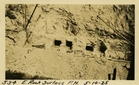 Lower Baker River dam construction 1925-05-10 E. Rock Surface P.H.