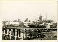 Future site of Bellingham Marine Boatbuilding Company, viewed from Bellingham Cold Storage