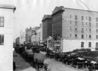 1910 Looking up Cornwall Street