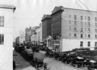 1910 Looking up Cornwall Street