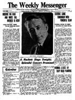 Weekly Messenger - 1921 October 28