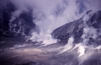 The lava dome.