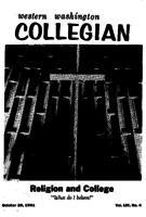 Western Washington Collegian - 1961 October 20