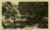 Lower Baker River dam construction 1925-01-13 Dam Site