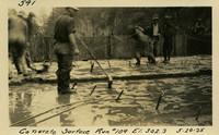 Lower Baker River dam construction 1925-05-20 Concrete Surface Run #109 El.302.3