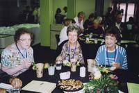 2007 Reunion--Lenore (Rude) Herguth (left) and Marita (Rude) Schafer (center)