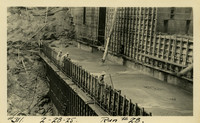 Lower Baker River dam construction 1925-02-28 Run #28