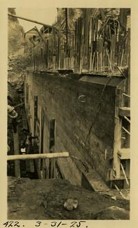 Lower Baker River dam construction 1925-03-31