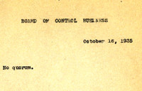 AS Board Minutes 1935-10