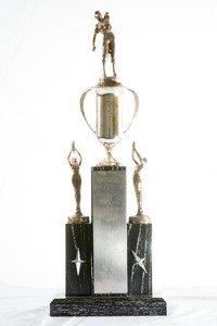 Baseball Trophy: Evergreen Conference Champions, 1961
