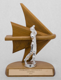 Golf (Men's) Trophy: Evergreen Conference Champions, 1965