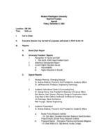 WWU Board minutes 2005 December