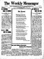 Weekly Messenger - 1920 June 25