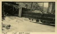Lower Baker River dam construction 1924-10-28 Cofferdam