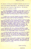AS Board Minutes 1933-02