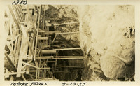 Lower Baker River dam construction 1925-09-23 Intake Forms