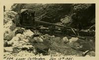 Lower Baker River dam construction 1925-01-13 Lower Coffer Dam