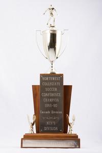 Soccer (Men's) Trophy: Northwest Collegiate Conference Champion, Cascade Division, 1989/1990