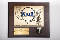Basketball (Women's) Plaque: NAIA District 1 Champions, 1986