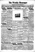 Weekly Messenger - 1924 April 25