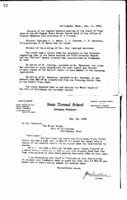 WWU Board minutes 1908 December
