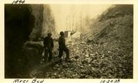 Lower Baker River dam construction 1925-10-20 River Bed