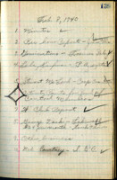 AS Board Minutes 1940-02