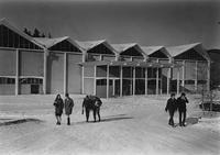 1960 Carver Gym in Snow