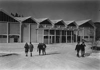 1960 Carver Gym in Snow