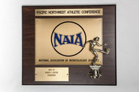 Soccer (Women's) Plaque: Pacific Northwest Athletic Conference NAIA Champions, 1994/1995