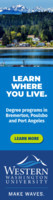 Degree Programs - Carnegie - Locations Undergrad WOTP- Version 3 (Sets 4-6) Ads - Aug 2020