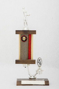 Basketball (Women's) Trophy: SOSC Northern-Southern Area Champs (front), 1976