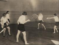 Badminton Match