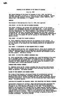 WWU Board minutes 1958 July