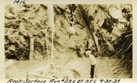 Lower Baker River dam construction 1925-09-30 Rock Surface Run #226 El.356