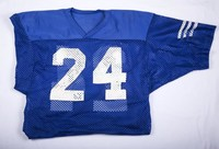 Footbal Jersey: Pat Locker, jersey #24, 1980