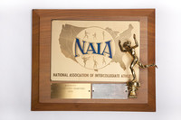 Cross-Country Running (Men's) Plaque: NAIA District 1 Champions, 1973