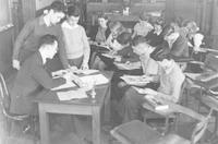 1942 Ninth Grade With Mr. Butz (Class 9-B)