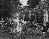 1947 College Group at top of Chuckanut Mountain