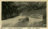 Lower Baker River dam construction 1924-10-01 Lower Cofferdam