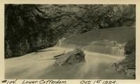 Lower Baker River dam construction 1924-10-01 Lower Cofferdam