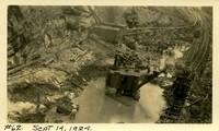Lower Baker River dam construction 1924-09-14 Excavation in dam site