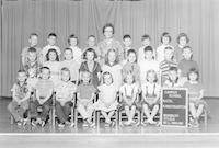 1961 Kindergarten Class with Synva Nicol