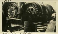Lower Baker River dam construction 1925-08-28 Unit #1N