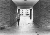 1970 Miller Hall: Walkway