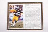 Football Photograph: Erik Totten, Strong Safety, honors and records,             1998/2002
