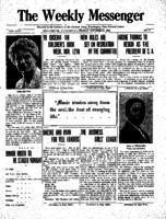 Weekly Messenger - 1922 October 13